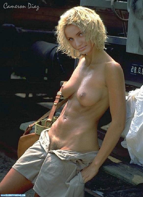 Cameron Diaz Fake, Tits, Topless, Very Nice Tits, Porn