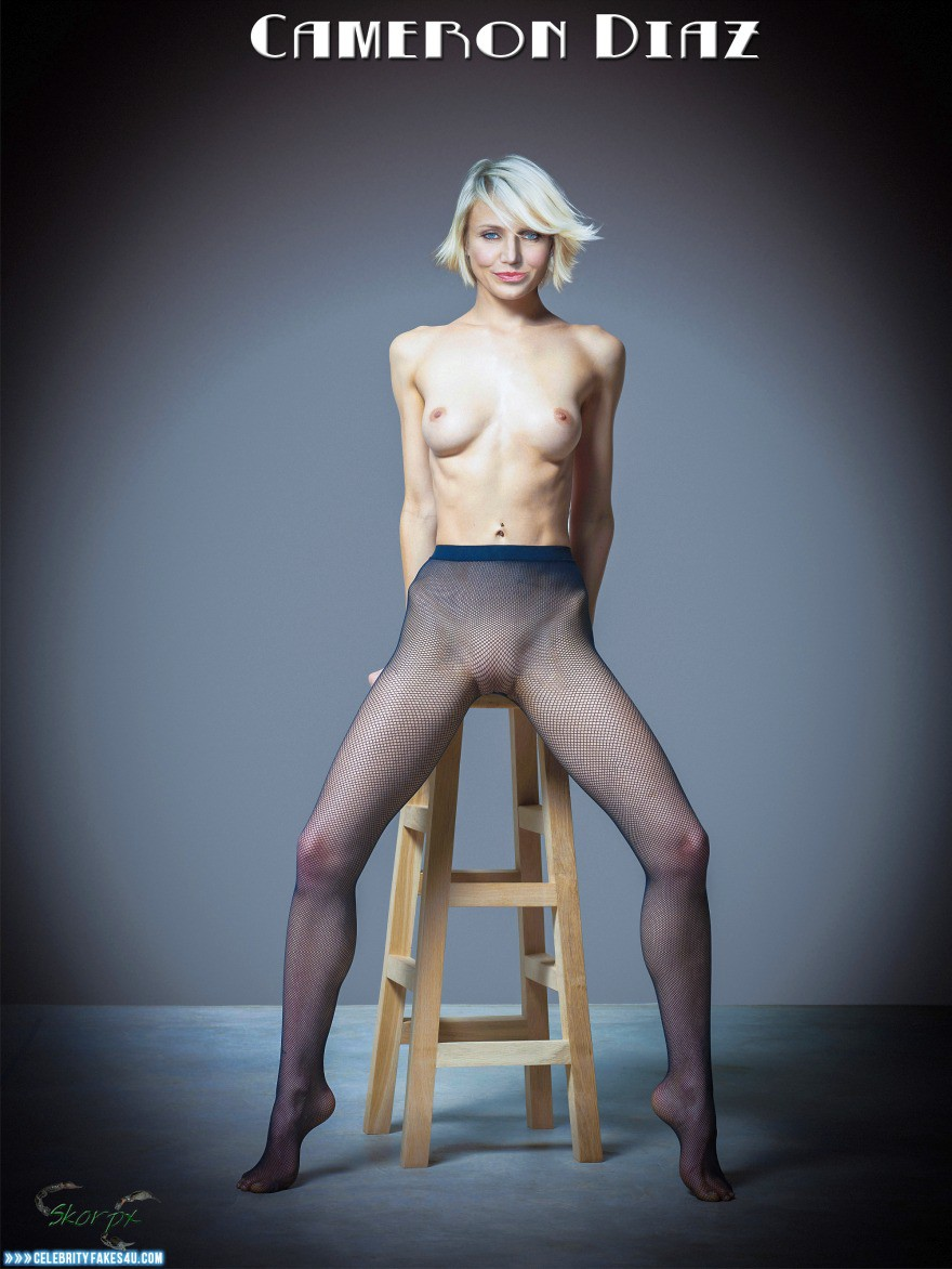 Cameron Diaz Fake, Nude, Stockings, Tits, Porn