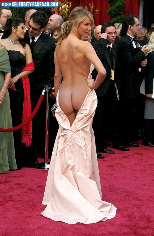 Cameron Diaz Fake, Ass, Nude, Public, Undressing, Porn