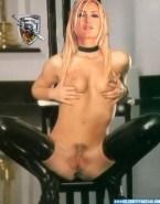 Caprice Bourret Vagina Legs Spread Squeezing Tits Nudes 001