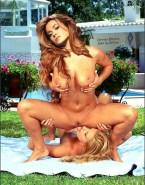 Carmen Electra Pussy Eaten Lesbian Nude 001