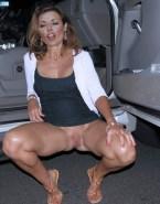 Carol Vorderman Voyeur Vagina Upskirt 001