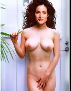 Carrie Anne Moss Nude Body Big Boobs 001