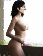 Carrie Anne Moss Nude Body Big Breasts 001