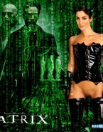 Carrie Anne Moss Nude The Matrix 001