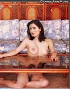 Carrie Anne Moss Pantieless Boobs Xxx 001