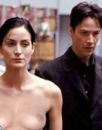 Carrie Anne Moss Public The Matrix 001
