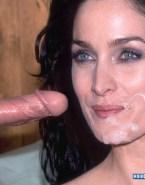 Carrie Anne Moss Handjob Facial Cumshot Nsfw Sex 001