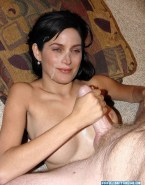 Carrie Anne Moss Leaked Facial Sex 001