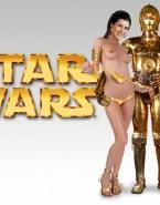 Carrie Fisher Bikini Undressing Porn 001