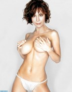 Catherine Bell Thong Big Tits Naked 001