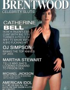 Catherine Bell Without Underwear Magazine Cover Fakes 001
