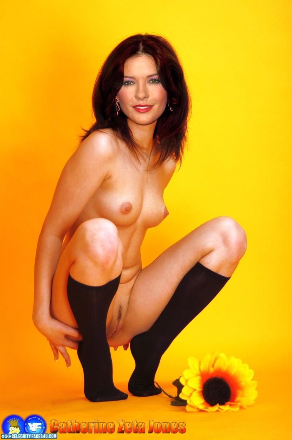 Fake catherine zeta-jones naked