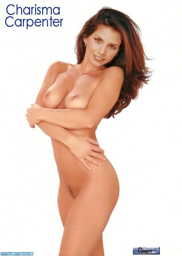 Hot naked girl on atv