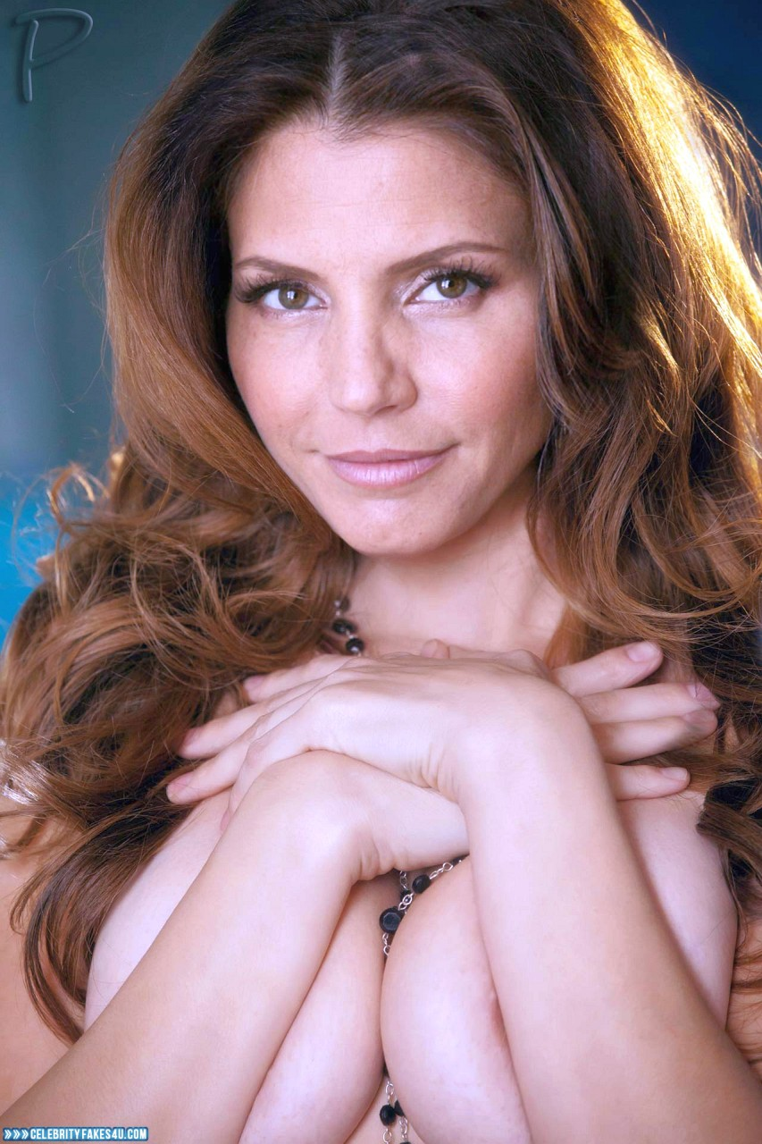 Charisma Carpenter Fake, Squeezing Breasts, Porn