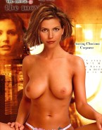 Charisma Carpenter Topless Lingerie Naked 001