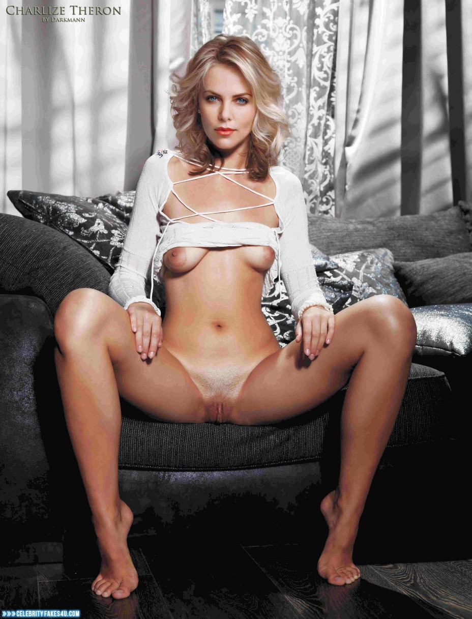 Theron fakes charlize nackt Top 50
