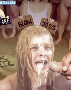 Chloe Grace Moretz Facial Cumshot Sex Fake-007