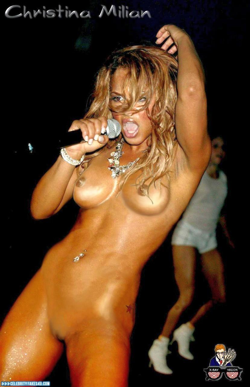 Nude photos of christina milian