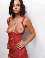 Christina Ricci Tit Flash Great Tits Nudes 001