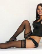 Christine Bleakley Stockings Nude Fake 001