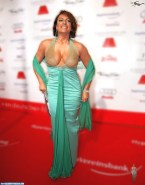 Christine Neubauer Red Carpet Event See Thru 001