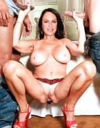 Christine Neubauer Anal Toy Legs Spread Nude Sex 001