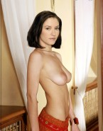 Chyler Leigh Large Tits Topless Nsfw Fake 001