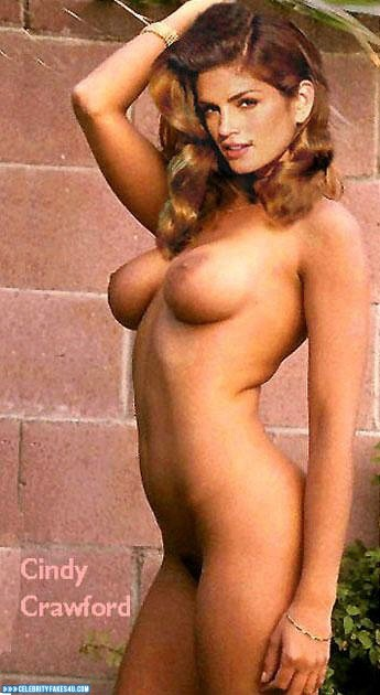 nude Cindy porn crawford fakes