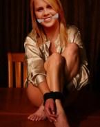 Claire Holt Feet Bondage Porn 001