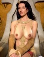 Claudia Black Big Tits Stargate Sg 1 Nsfw Fake 001