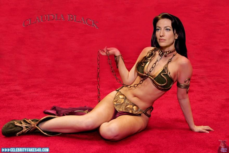 Claudia black naked fakes