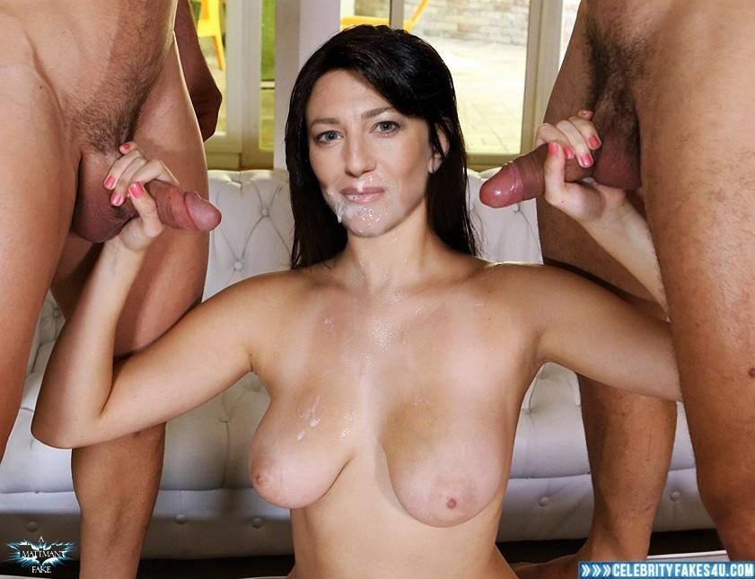 Black Cumshot Tits - Claudia Black Big Tits Handjob Nude Sex Fake 001 Â« Celebrity ...