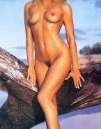 Claudia Schiffer Wet Naked Body Fake 001