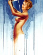 Claudia Schiffer Wet Toon Naked Fake 001