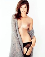Cobie Smulders Naked Tits Fake-020