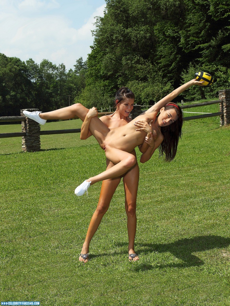 Woman public bondage