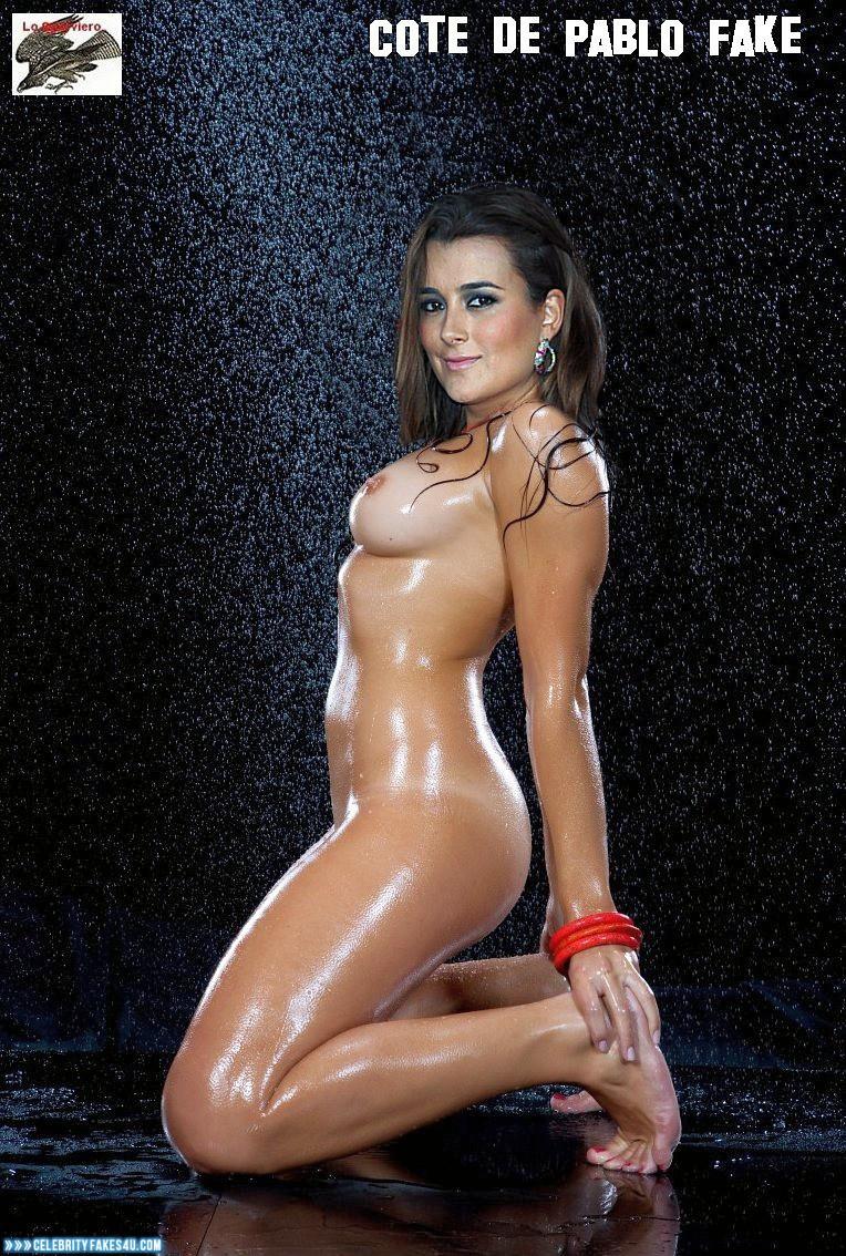 Cote De Pablo Fake, Naked Body, Nude, Tits, Wet, Porn