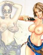 Courtney Thorne Smith Breasts Cartoon Fake 001