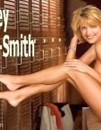 Courtney Thorne Smith Legs Sideboob Fake 001