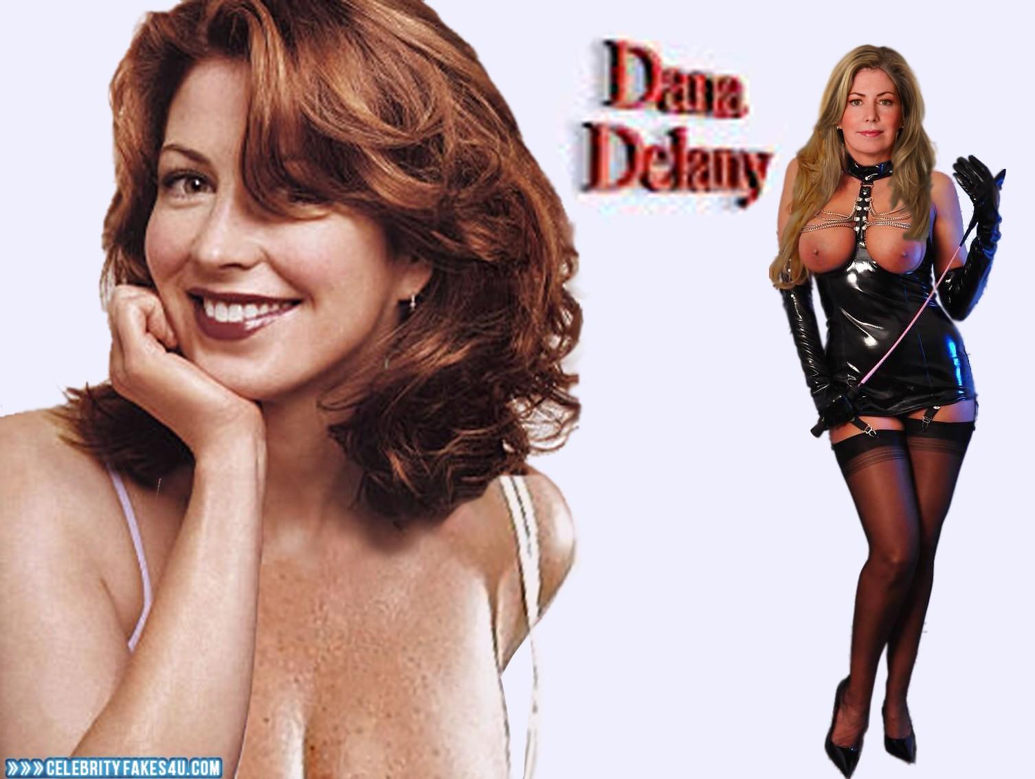 Dana Delany Fake, BDSM, Dominatrix, Latex, Lingerie, Nude, Stockings, Tits, Porn