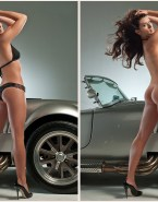 Danica Patrick Ass Sideboob Naked 001