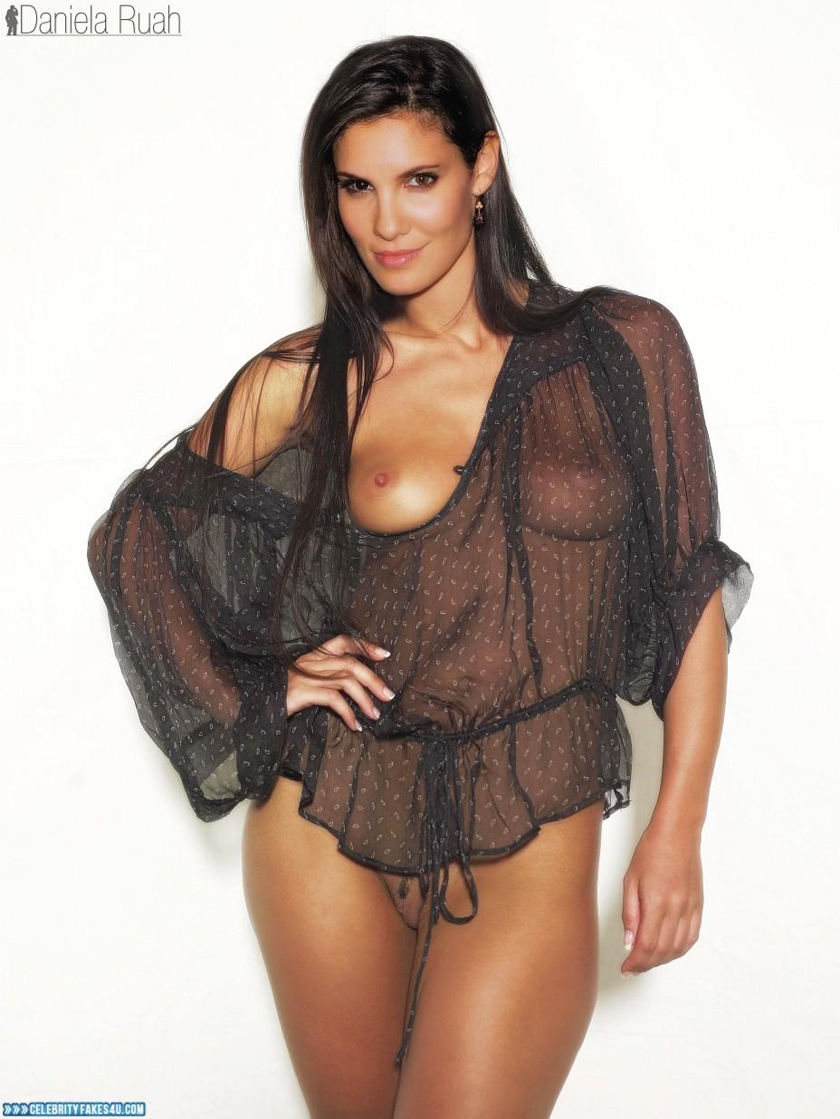 Daniela Ruah Fake, See-Thru, Very Nice Tits, Porn