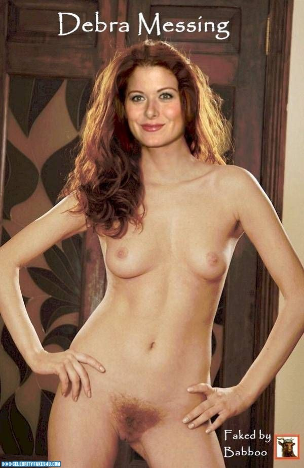 Debra messing fake nude — pic 5