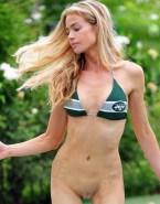 Denise Richards Bikini Pantieless Nsfw 001
