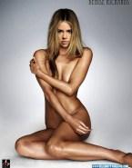Denise Richards Completely Naked Body Squeezing Tits 001