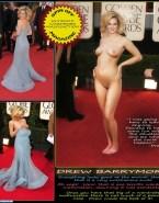 Drew Barrymore Public Naked Body 001