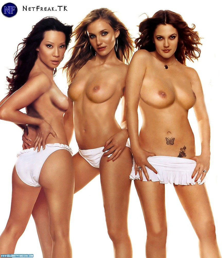 Excited too charlie s angels topless