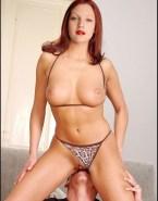 Drew Barrymore Vagina Ate Panties Aside 001