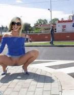 Elisabeth Hasselbeck Upskirt Pussy Public Fake 001